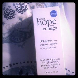 PHILOSOPHY FACIAL FIRMING SERUM WITH GLUTATHIONE